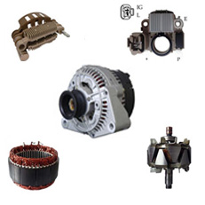 ALTERNATOR AND PARTS