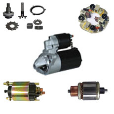 STARTER AND PARTS